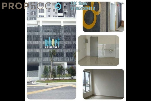 For Sale Condominium at The Wharf, Puchong Leasehold Semi Furnished 3R/2B 500k