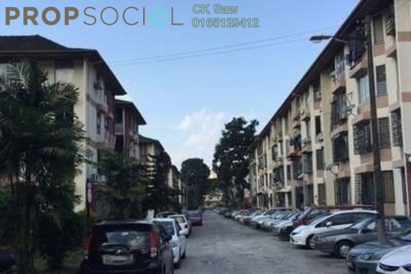 For Sale Apartment at Rampai Court, Setapak Freehold Semi Furnished 2R/1B 285k
