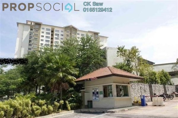 For Sale Condominium at Green Avenue, Bukit Jalil Freehold Semi Furnished 4R/2B 500k