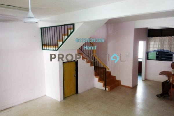 For Sale Terrace at Taman Sri Rampai, Setapak Leasehold Unfurnished 3R/2B 510k