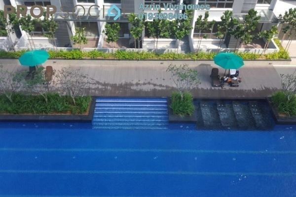 For Sale Condominium at Paramount Utropolis, Shah Alam Freehold Semi Furnished 2R/2B 650k
