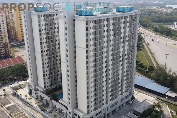 For Sale Condominium at Residensi Laguna, Bandar Sunway Leasehold Unfurnished 3R/2B 430k