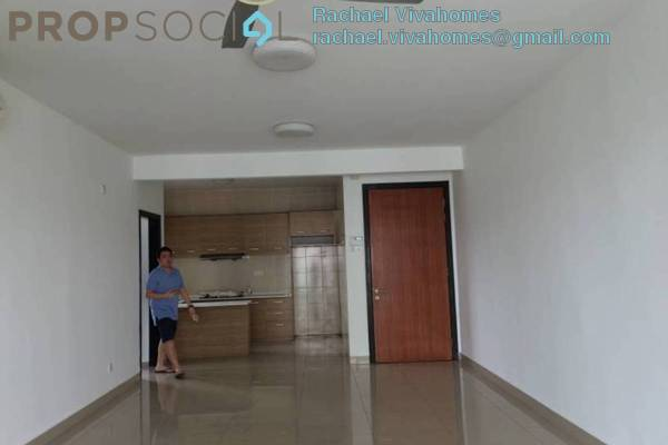 For Rent Condominium at Zen Residence, Puchong Leasehold Semi Furnished 3R/2B 1.65k
