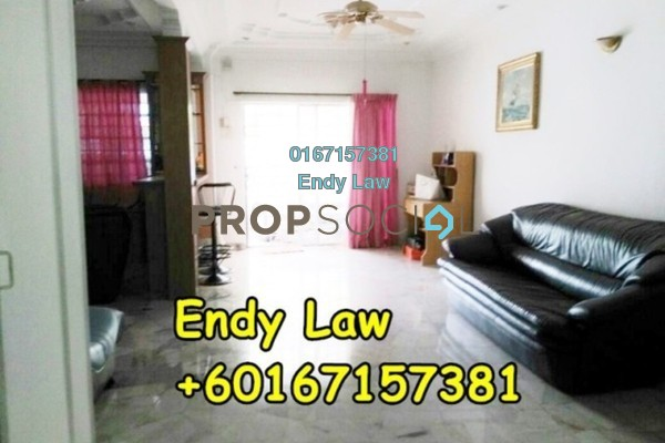 For Sale Terrace at Taman Sri Tebrau, Johor Bahru Freehold Semi Furnished 4R/3B 393k