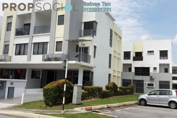 For Rent Townhouse at Odora Parkhomes, 16 Sierra Leasehold Unfurnished 3R/3B 1.5k
