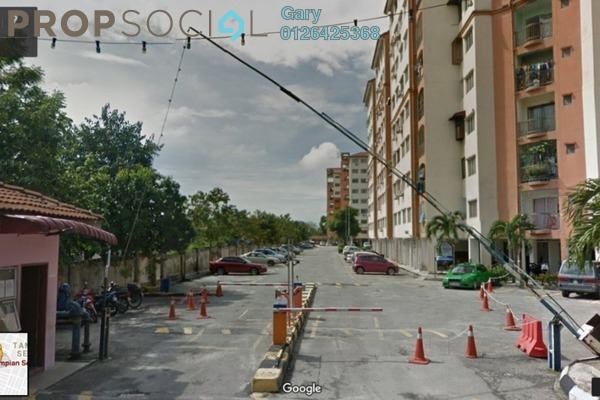 For Sale Apartment at Taman Sentosa, Klang Freehold Semi Furnished 3R/2B 120k