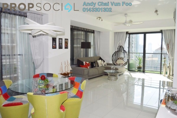 For Rent Condominium at Hampshire Place, KLCC Freehold Fully Furnished 2R/2B 6.3k
