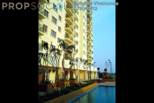 For Sale Condominium at Alam Idaman, Shah Alam Freehold Unfurnished 3R/2B 385k