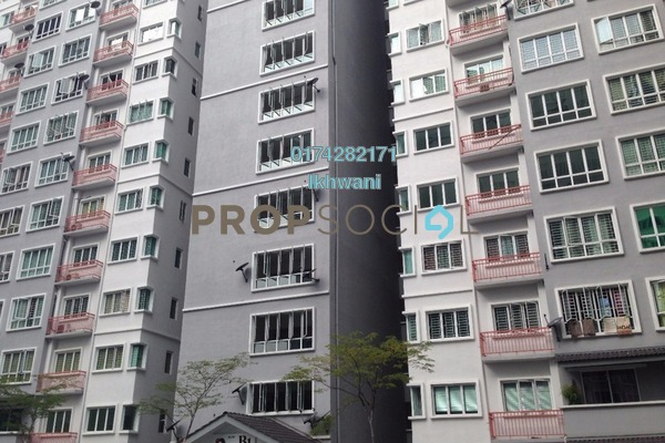 For Sale Condominium at Banjaria Court, Batu Caves Leasehold Unfurnished 3R/2B 395k