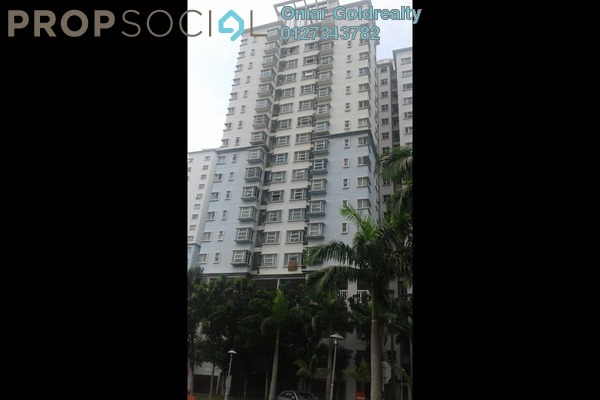 For Sale Condominium at Desa Impiana, Puchong Freehold Semi Furnished 3R/2B 455k
