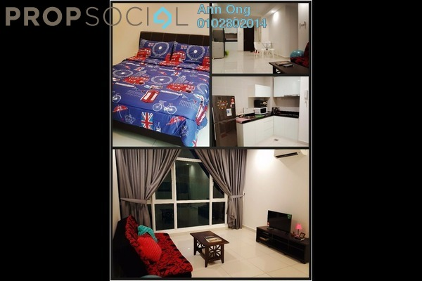 For Rent Condominium at Dua Sentral, Brickfields Freehold Fully Furnished 2R/2B 3.1k