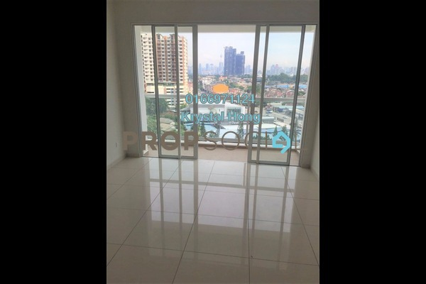 For Rent Condominium at MH Platinum Residency, Setapak Freehold Semi Furnished 3R/2B 1.7k