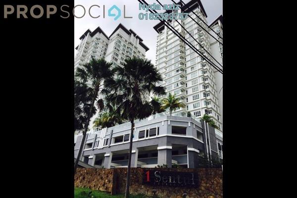 For Rent Condominium at 1Sentul, Sentul Freehold Fully Furnished 3R/2B 1.55k