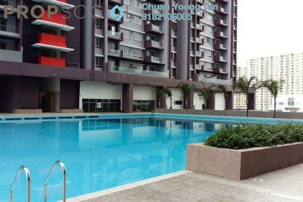 For Sale Condominium at Platinum Lake PV21, Setapak Freehold Unfurnished 2R/2B 389k