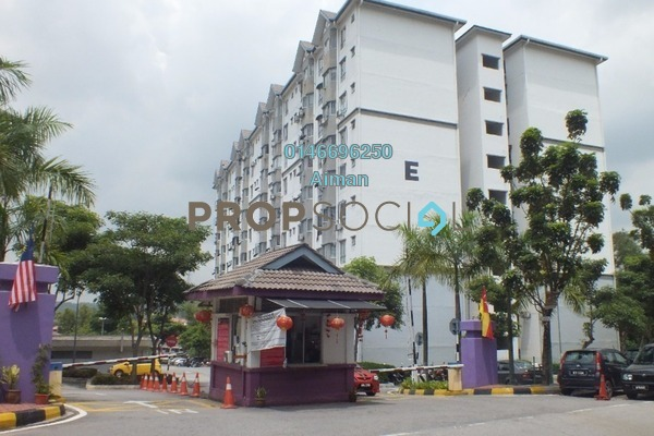 For Sale Apartment at Mayang Apartment, Bandar Putra Permai Leasehold Unfurnished 3R/2B 290k