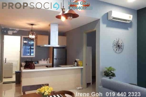 For Rent Serviced Residence at Southbay Plaza @ Southbay City, Batu Maung Freehold Fully Furnished 3R/3B 2.5k