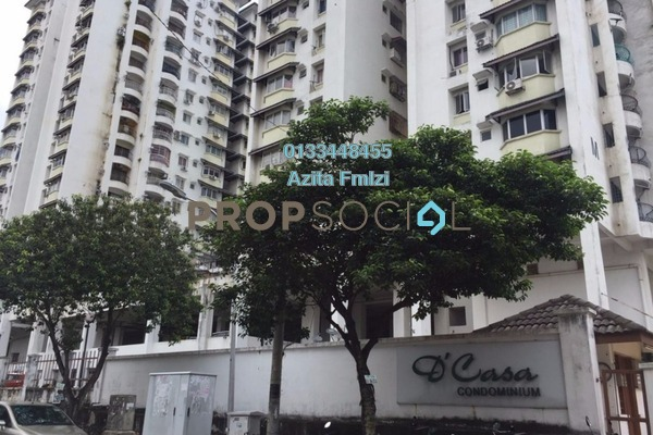 For Sale Condominium at D'casa Condominium, Ampang Freehold Unfurnished 3R/2B 290k