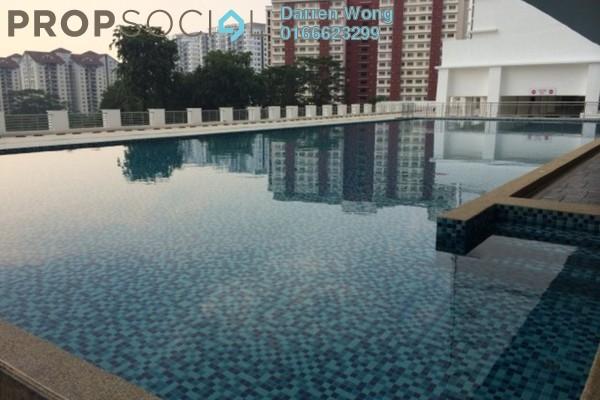 For Sale Condominium at Suasana Lumayan, Bandar Sri Permaisuri Leasehold Semi Furnished 4R/2B 470k