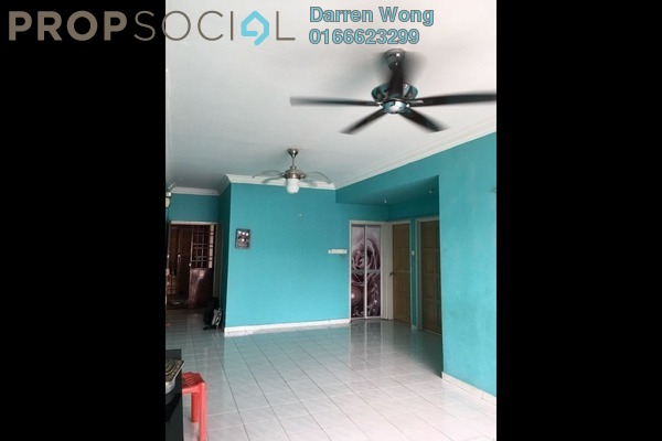 For Rent Apartment at Pandan Court, Pandan Indah Leasehold Semi Furnished 3R/2B 1.5k
