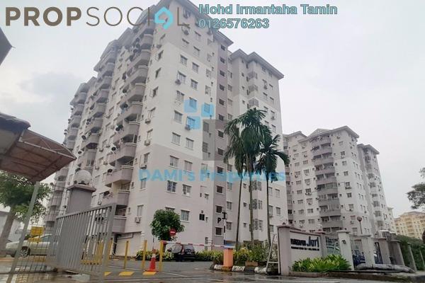 For Sale Apartment at Jati 1 Apartment, Subang Jaya Freehold Unfurnished 3R/2B 360k