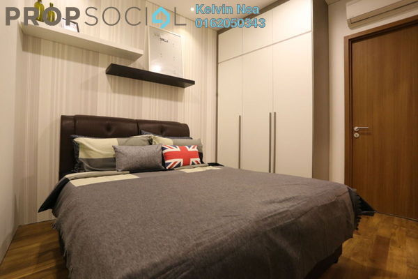 For Rent Condominium at Vortex Suites & Residences, KLCC Freehold Fully Furnished 2R/2B 3k