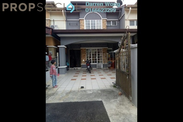 For Rent Terrace at Taman Suria Jaya, Cheras South Leasehold Semi Furnished 4R/3B 1.2k