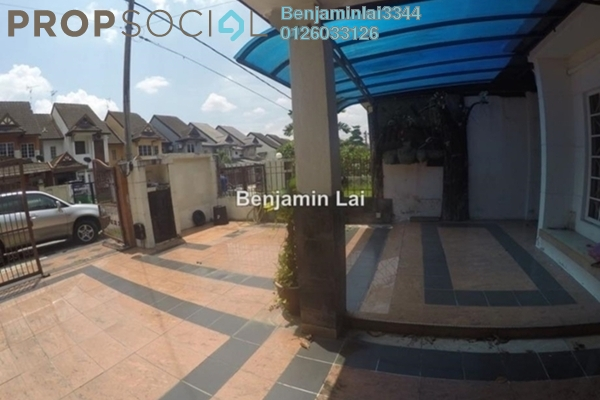For Rent Terrace at SD10, Bandar Sri Damansara Freehold Semi Furnished 4R/3B 2k