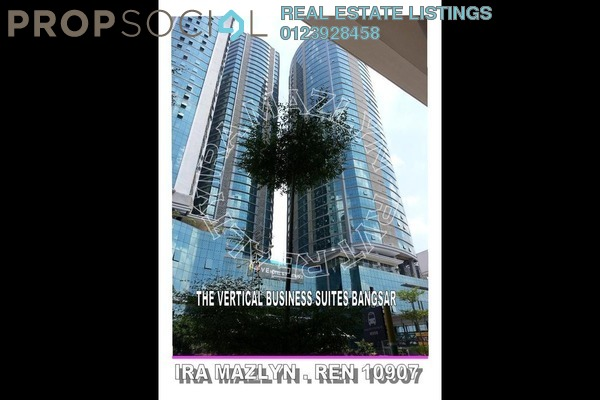 For Rent Office at The Horizon, Bangsar South Leasehold Semi Furnished 0R/0B 34.6k