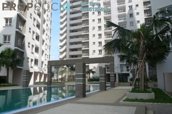 For Rent Condominium at Cova Suite, Kota Damansara Leasehold Semi Furnished 3R/2B 2.4k