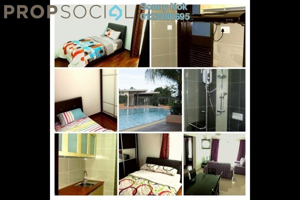 For Rent Condominium at Gardenview Residence, Cyberjaya Freehold Fully Furnished 3R/2B 2.4k
