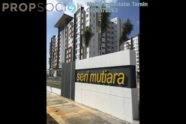 For Sale Apartment at Seri Mutiara, Setia Alam Freehold Unfurnished 3R/2B 330k