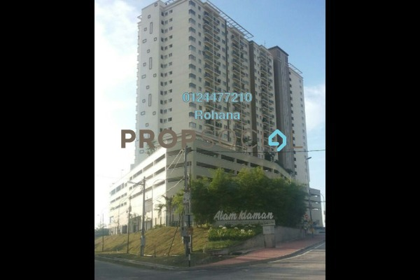 For Sale Condominium at Alam Idaman, Shah Alam Freehold Unfurnished 2R/2B 330k
