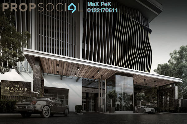 For Sale Condominium at The Manor, KLCC Freehold Fully Furnished 3R/3B 3m