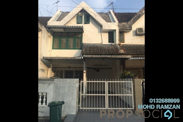 For Sale Terrace at Taman Setiawangsa, Setiawangsa Freehold Semi Furnished 3R/3B 780k