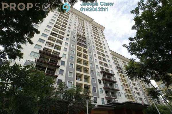 For Sale SoHo/Studio at Ritze Perdana 1, Damansara Perdana Leasehold Fully Furnished 1R/1B 295k