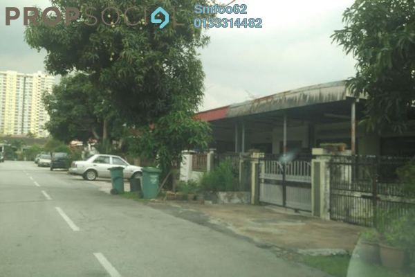 For Rent Terrace at Taman Setapak Indah, Setapak Leasehold Semi Furnished 3R/2B 1.75k