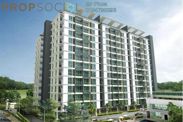 For Rent Condominium at Tanjung Heights, Butterworth Freehold Unfurnished 4R/2B 1.1k
