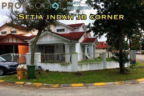 For Sale Terrace at Setia Indah, Tebrau Freehold Semi Furnished 3R/2B 580k