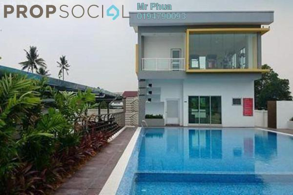 For Rent Condominium at Kelisa Residence, Seberang Jaya Freehold Semi Furnished 4R/2B 1.1k