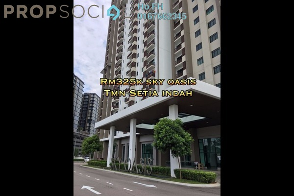For Sale Serviced Residence at Sky Oasis Residences, Tebrau Freehold Fully Furnished 1R/1B 325k