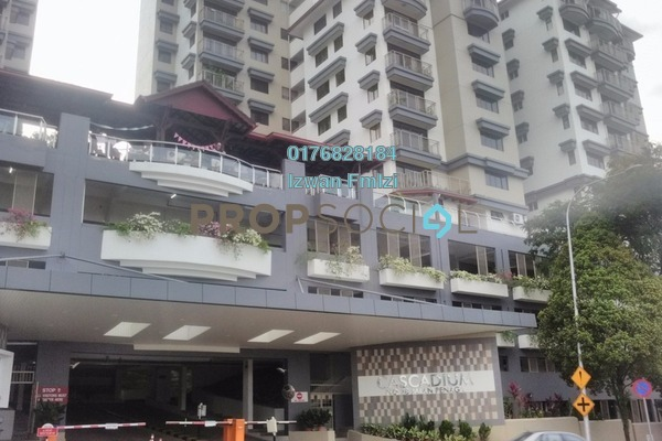For Sale Condominium at Cascadium, Bangsar Freehold Unfurnished 2R/2B 1.4百万