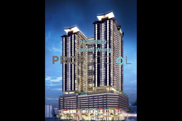 For Sale Condominium at Pinnacle, Sri Petaling Leasehold Unfurnished 2R/2B 434k