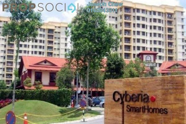 For Rent Condominium at Cyberia SmartHomes, Cyberjaya Freehold Fully Furnished 3R/2B 1.6k