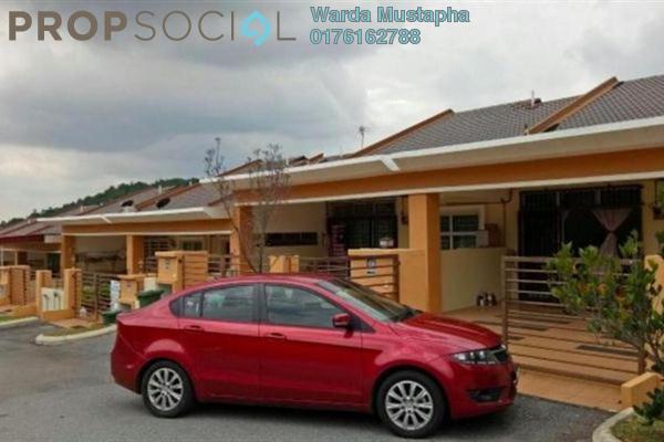 For Sale Terrace at Taman Nusa Indah, Iskandar Puteri (Nusajaya) Freehold Semi Furnished 4R/2B 400k