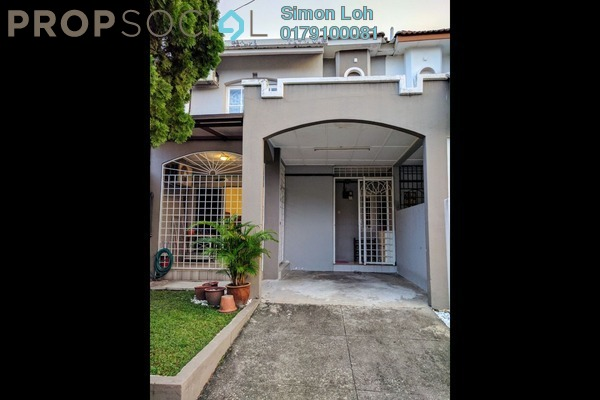 For Rent Terrace at USJ 13, UEP Subang Jaya Freehold Fully Furnished 3R/3B 1.8k