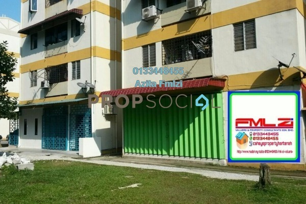 For Sale Apartment at Gasing Indah, Gasing Heights Freehold Unfurnished 3R/1B 230k