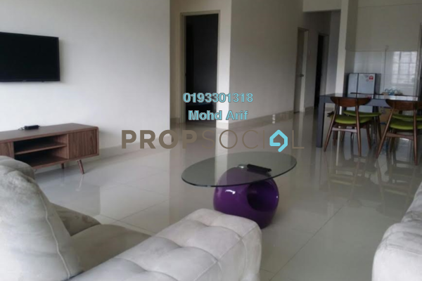 For Rent Condominium at Setia Walk, Pusat Bandar Puchong Freehold Fully Furnished 3R/2B 2.4k