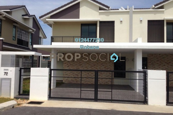 For Rent Terrace at Puncak Bestari, Kuala Selangor Leasehold Unfurnished 4R/3B 2k