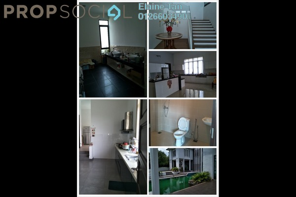 For Sale Bungalow at Country Heights Kajang, Kajang Freehold Semi Furnished 8R/10B 8.5m