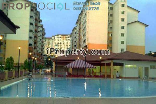 For Rent Apartment at Serdang Villa Apartment, Seri Kembangan Freehold Fully Furnished 3R/2B 1.3k